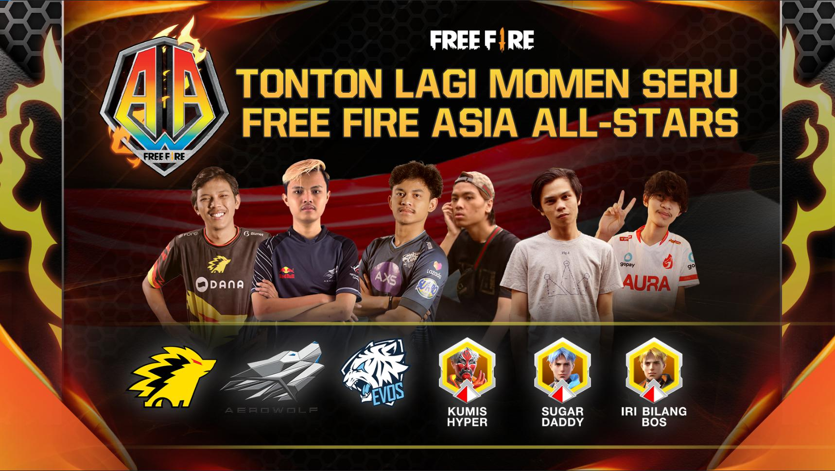 Highlight Free Fire Asia All-stars