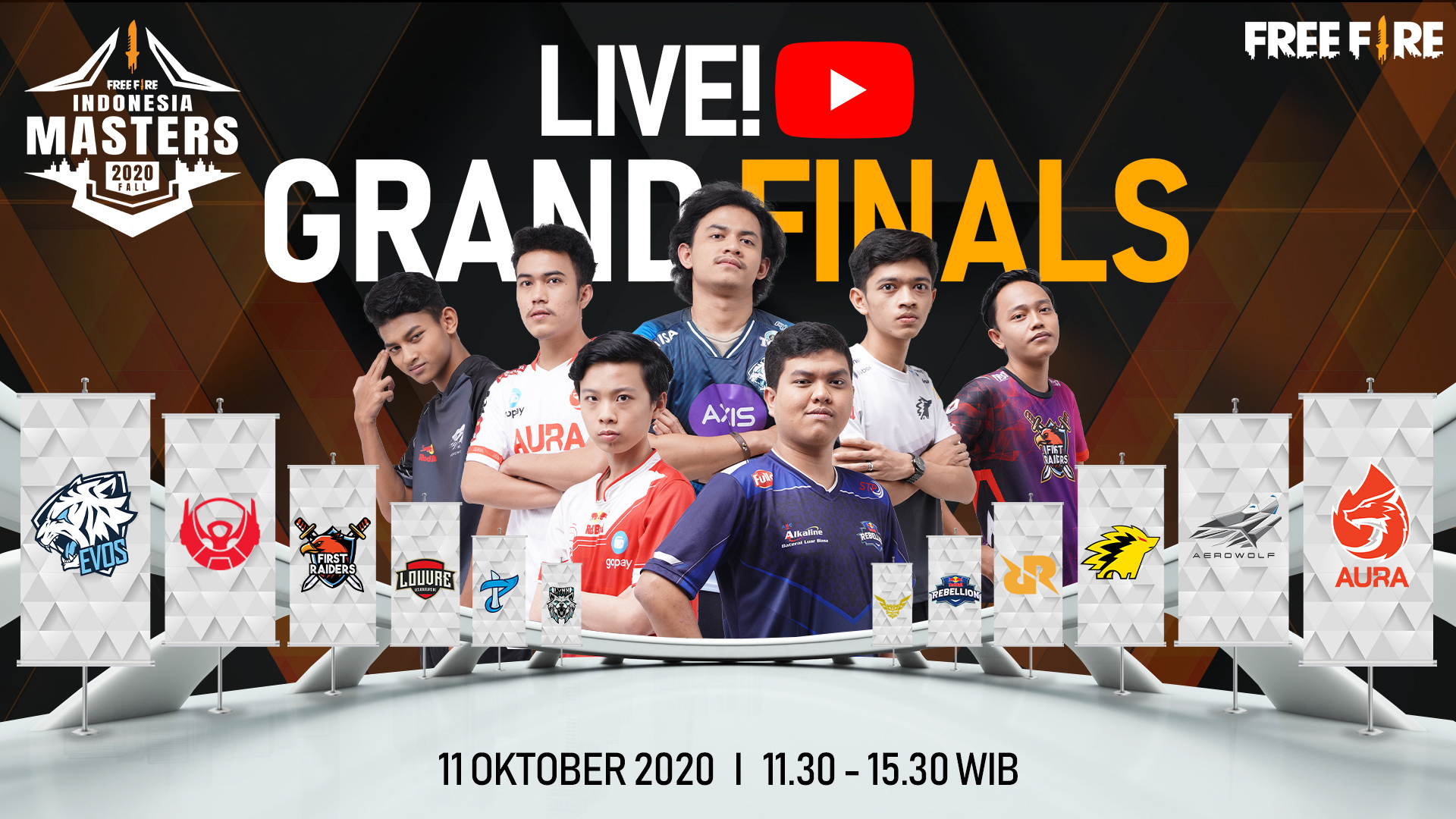 Grand Finals Free Fire Indonesia Masters 2020 Fall
